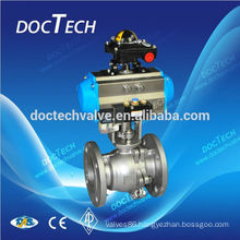 "soft Sealing GB DN50 2"" With Single Action Pneumatic Actuator From China Supplier"