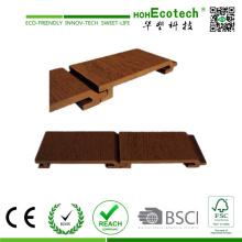CE plástico de madeira do painel de parede do composto WPC (156 * 21) habilitado