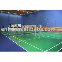 badminton court plastic floor mat