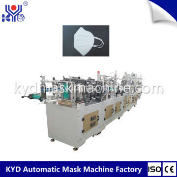 Auotmatic Folding Mask Machine dengan Valve Welding