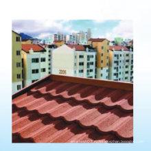 Встряска Тип Цвет Алюминиевый камень с покрытием Крыша плитка