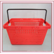 Supermarket Plastic Single Handle Shopping Basket (YD-XP2)