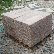 Saw Cut Natural Granite Outdoor Pavers for Driveway