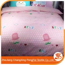 Китай высокое качество 100%полиэстер набивные ткани для постельного белья