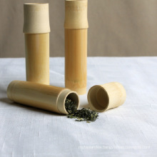 Eco-Friendly Bamboo Storage Tube/Canister for Tea