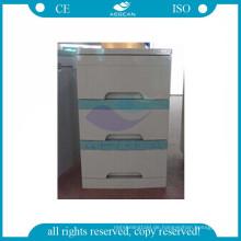 AG-BC001 CE ISO mobile Krankenhaus Kunststoff medizinische Nachttisch Schließfach