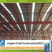 Hall de construction de structure en acier de haute qualité