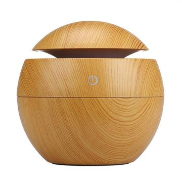 130ml LED Ultrasonic Aroma Diffuser Cool Mist Humidifier