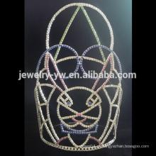 Quente !! Rhinestone coroa de festa de Halloween, tamanhos disponíveis para as mulheres