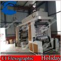 Machine d'impression de film thermo-rétrécissable de PVC (tambour central)