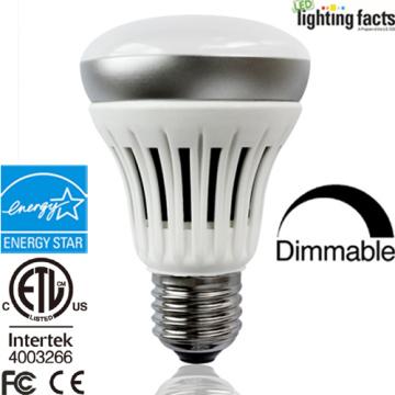 Lampe LED Br20 / R20 à remplacement incandescent 80W avec fonction Dimmable