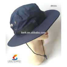 Мода Мужчины Женщины стимпанк Панама Hat соломы лента Pinched Корона проката широкий края краев Летняя флоппи Beanie Hat Beach Bucket Hat