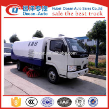 Barredoras camiones en carretera, dongfeng calle barrido camiones para la venta