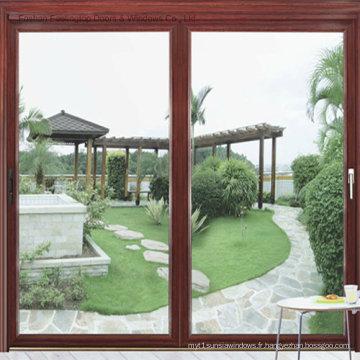 Solution de fenêtre à double vitrage en aluminium (FT-W85)