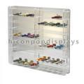 Merchandising Counter Top Transparente Acryl Spielzeug Auto Display Custom Drinky Farm Spielzeug Display Fall