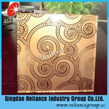 Vidro fosco Bronze / Bronze Acid Etched Glass