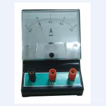 Amperímetro del equipo educativo de laboratorio, voltímetro, galvanómetro