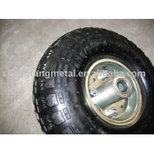 flat free rubber wheel 26cm