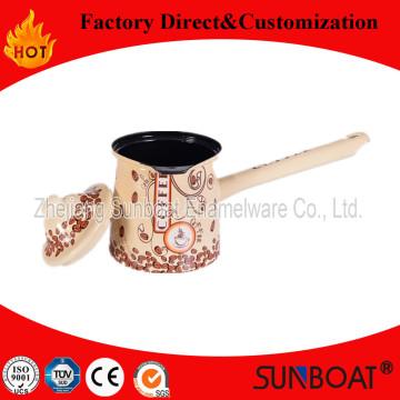 Sunboat Kaffeekanne Emailleware / Kochgeschirr / Teekanne / Wasserkocher