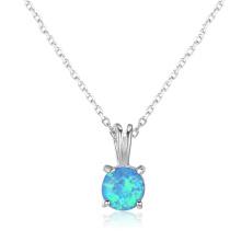 Opal Stone Hot Sale Popular 925 Sterling Silver Jewelry Opal Pendant