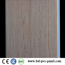 Hotstamp Madera Color PVC Techo PVC Panel Junta 24cm 6.5mm en la India