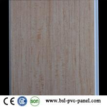 Hotstamp Madeira Cor PVC Teto PVC Painel Placa 24cm 6.5mm na Índia