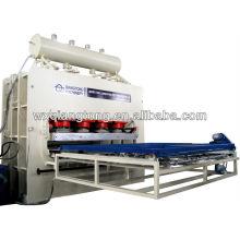 Presse à chaud hydraulique à cycle court pour meubles / Panneaux de meubles machine de pressage / 4x8feet Machine à plastifier MDF
