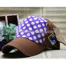 Logo promotionnel imprimé bon marché bon marché casquette de baseball