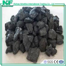 Analyse de coke métallurgique à haute teneur en carbone et de coke