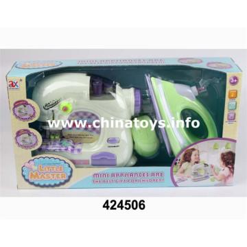 Ensemble d'appareils ménagers en plastique B / O (424506)