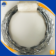 pvc coated concertina razor barbed wire