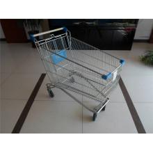 Стиль Развертка Вагонетки Покупкы Супермаркета