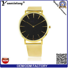 Yxl-636 Luxury Casual Men Lady Watches Gold Mesh Band Quartz Wrist Watches