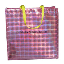 BOPP Laminated Nonwoven Laser Bag Promotional Shopping Bag
