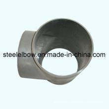 Carbón de la soldadura a tope de acero Tee