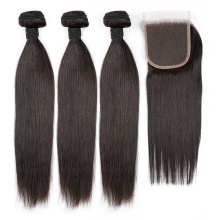 FREIES VERSCHIFFEN gerades Jungfrau-Haar-unbearbeitetes Häutchen ausgerichtetes Haar
