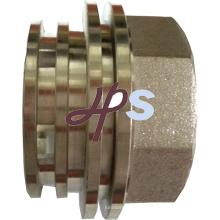 Inserto de PPR de latón forjado en caliente para el montaje de PPR