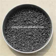 tamaños 3-8mm de azufre 0.3% carbón de antracita calcinado