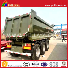 3axles U-Shape Tipper Dumper Semi Trailer for Iron Ore Transportation
