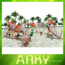 Outdoor Fitness Sports Climbing Playground For Kids