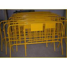 Clôture temporaire enduite de PVC / galvanisée