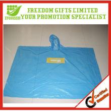El estilo único y de Fashional imprimió el poncho plástico disponible transparente de calidad superior