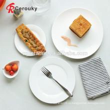 Индивидуальные блюда из керамических тарелок логотипа