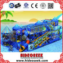 Équipement de terrain de jeu d'intérieur de parc d'attractions de style de mer à vendre