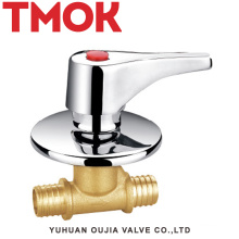 brass good sale in America concealed stop valve