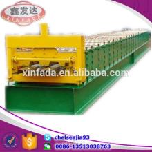 Fada Automática De Buena Calidad 688 Pavimento Decking Roll Formando Máquina