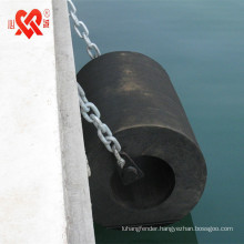 Factory outlet Marine dock protection Cylindrical rubber fender