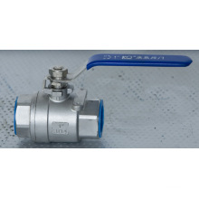 Screw Female Thread End 2PC Type Ss304 Ball Valve