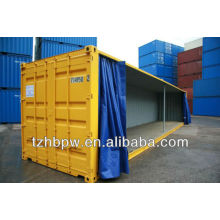 Боковая занавеска контейнера