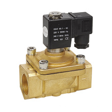 PU220 Series 2/2 Way Brass Direct Acting Normally Closed Water Solenoid Valve